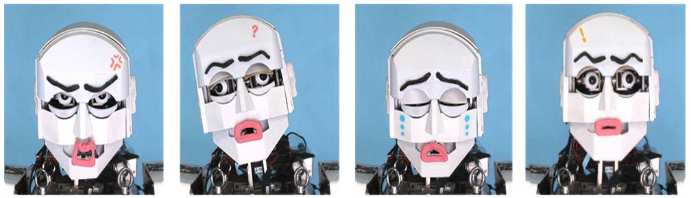 Whole Body Emotional Expression Robot