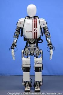 Biped Humanoid Robot Wabian 2r